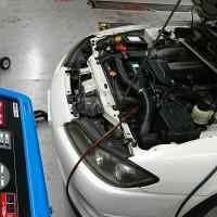 S15 シルビア エアコン クリーニング エアコンガス 補充