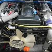 JZA80 スープラ オイル漏れ タイミングベルト交換
